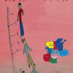 Poster informativo campaña midamos desarrollo infantil autismo