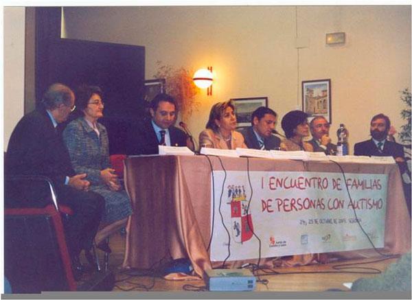 I Encuentro Regional de Familias de personas con autismo  de Castilla y León 2003