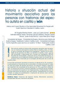 Historia y situación actual del movimiento asociativo para las personas con Trastornos del Espectro Autista en Castilla y León.