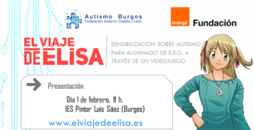"""Proyecto sensibilización sobre autismo """"El viaje de Elisa"""""""