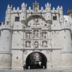 Arco de Santa María, Burgos.