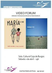 Cine Forum en Aranda de Duero y en Medina de Pomar, Día Mundial Autismo
