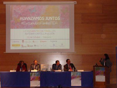Inauguración VI Encuentro de Familias Personas con TEA de Castilla y León