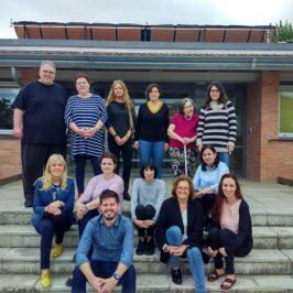 Diversas entidades europeas se reúnen en Autismo Burgos en el marco de un proyecto Europeo ERASMUS+