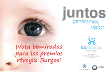 Proyecto bbMiradas nominado a los premios de TV8 de Burgos