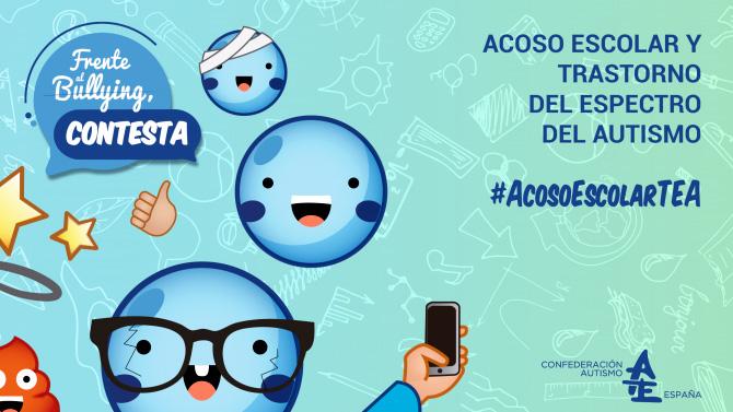 Autismo España lanza una campaña para concienciar sobre el acoso escolar en alumn@s con Trastorno del Espectro del Autismo (TEA)