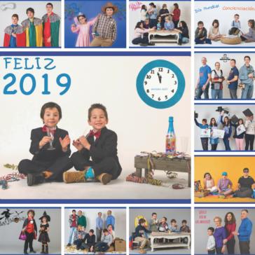 Ya disponibles los nuevos calendarios solidarios de Autismo León