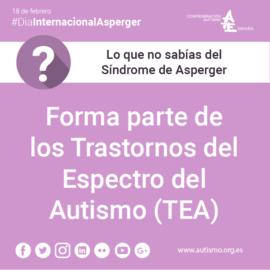 Día Internacional del Síndrome de Asperger 2018