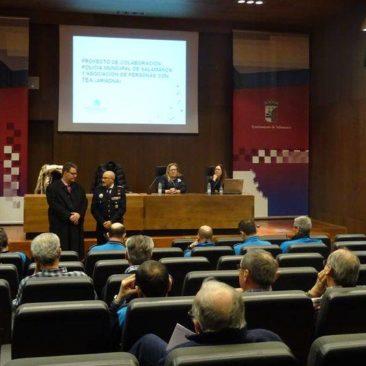 Jornada de formación para la Policía Local sobre la intervención con personas con autismo