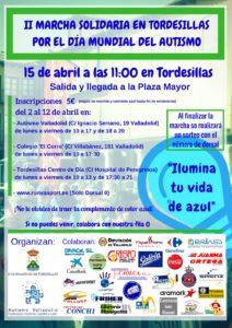 2 Marcha Solidaria en Tordesilla por el Autismo