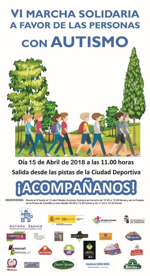 6 Marcha Solidaria Autismo Zamora
