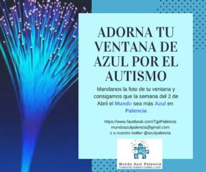 Adorna tu venta de azul por el autismo