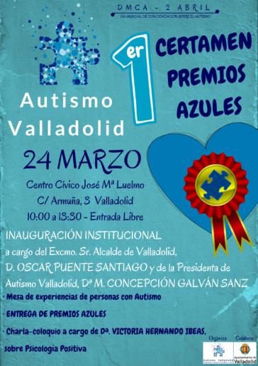 I Certamen Premios Azules organizado por Autismo Valladolid