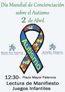 Día Mundial del Autismo en Palencia