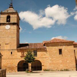 Iglesia de Montejo de San Miguel, Valle de Tobalina, Burgos.