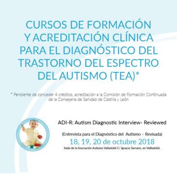 Formación ADI-R, Herramienta de diagnóstico autismo