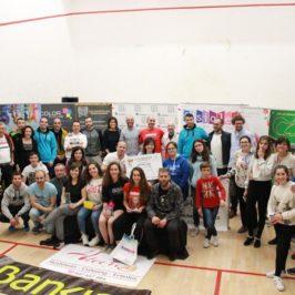 Celebrado el I Torneo Benéfico de Squash a favor de Autismo León
