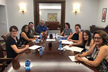 Reunió CERMI CyL con el Consejero de educación