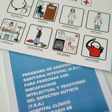 """Primer encuentro entre Autismo Valladolid y el Hospital Clínico Universitario para la implantación del Proyecto """"ASI""""."""