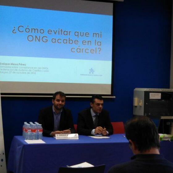 Formación Junta Directiva Autismo Castilla y León 2018