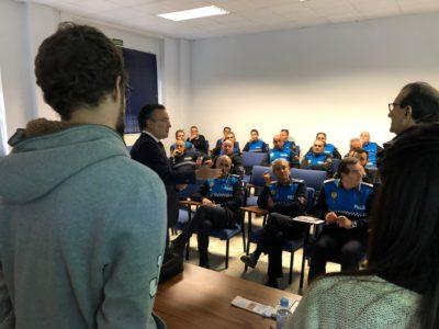 Formación sobre TEA Policía Nacional, Autismo León