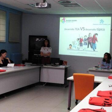 Primera formación a profesionales de Centros Base, en Intervención Temprana en Trastorno del Espectro del Autismo en Castilla y León