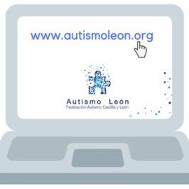 Autismo León Estrena página web