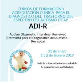 Formación ADI-R 2019, Herramienta de diagnóstico autismo