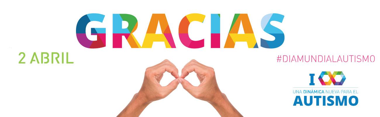 Gracias Día Mundial Autismo Castilla y León
