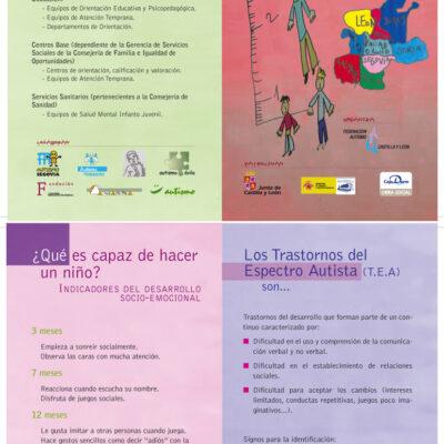 """Díptico informativo campaña """"Midamos el Desarrollo Infantil"""""""