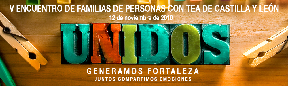 V Encuentro de Familia de Personas con TEA de Castilla y León