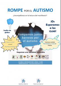 Día Mundial Autismo en Palencia 2017