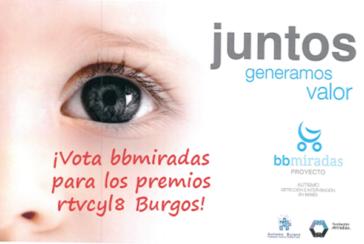 Proyecto bb miradas, Autismo Burgos nominado a los premios La 8 Burgos TV.
