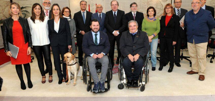 Reunión CERMI CyL con Presidente de la Junta de Castilla y León