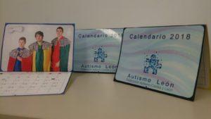 Calendario solidario de Autismo León
