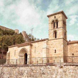 Iglesia de Santa Cecilia, de Aguilar de Campoo, Palencia.