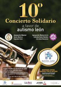 Concierto Solidario Autismo León Día Mundial del Autismo