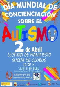 Día Mundial de Autismo en Palencia