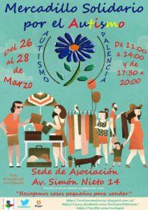Mercadillo solidario Autismo Palencia