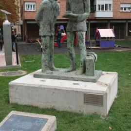 Monumento al Caminante, Soria.