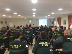 Formacion Autismo León a la Guardia Civil