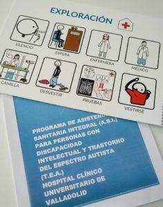 Proyecto asistencia sanitaria Autismo Valladolid