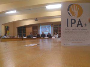 Proyecto IPA+ formación profesionales que trabajen con personas con Trastorno del Espectro del Autismo