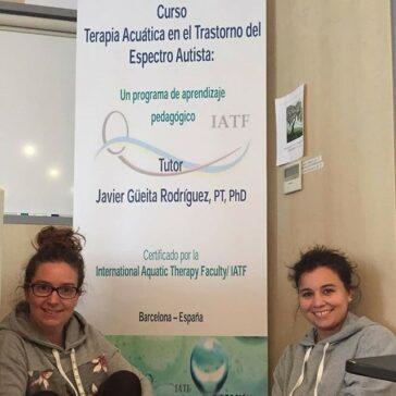 Terapia acúatica Autismo Palencia