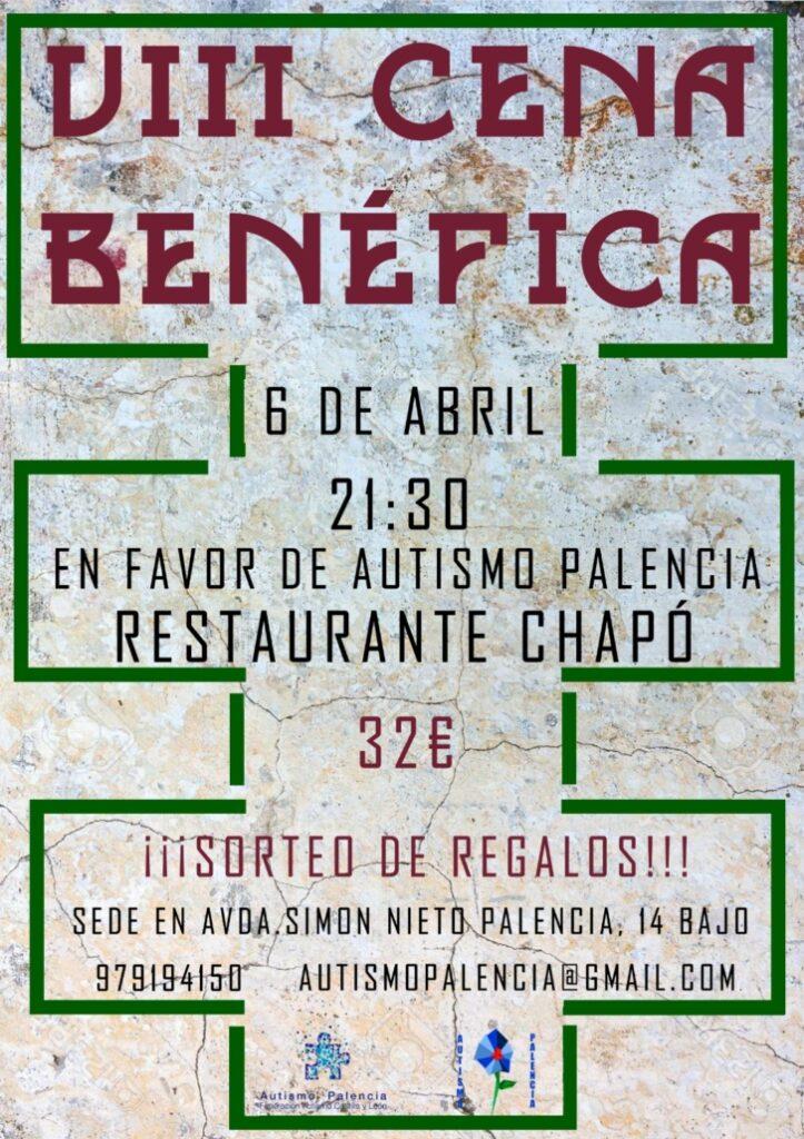 Cena benéfica a favor de Autismo Palencia