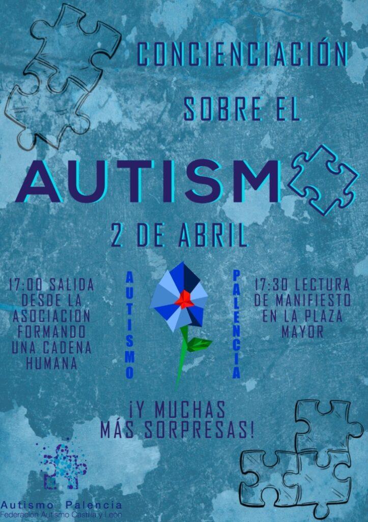 Acto de celebración del Día Mundial del Autismo en Palencia