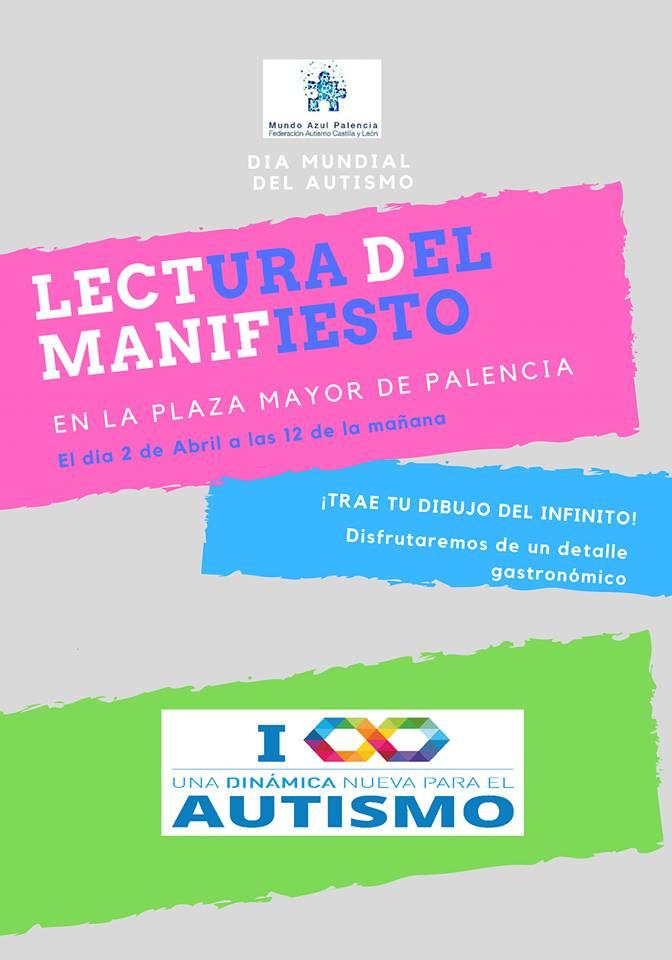 Día Mundial Autismo Mundo Azul Palencia