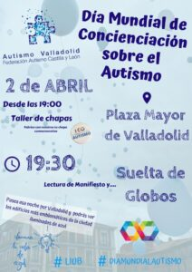 Día Mundial Autismo Valladolid