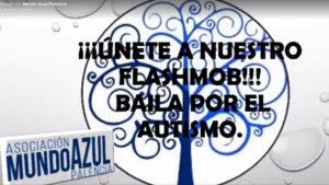 Flashmob Mundo Azul Palencia Autismo