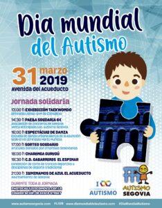 Jornada solidaria en Segovia con motivo del Día Mundial del Autismo